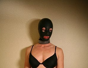 Jane never knows exactly what's going to happen when bodybuilders Melissa Dettwiller and Roxie Rain stop by, but she knows all that muscle on one bed is lots of Femdomme lesbian fun. And she loves to worship their muscle's too. So they make her wear a latex mask, then fondle her, spank her ass and tell her where and how to lick Melissa's pierced big clit. See it all in girl/girl/girl close-up.