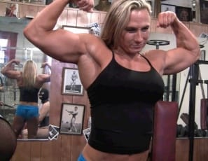 It's a girl/girl/girl clit-pumping party at the gym, and bodybuilders Ashlee Chambers Darkside Milinda, are training Rikochan, showing her how to make her clit  bigger, and how to worship their muscular biceps, abs, legs and calves. They show her how to pump her clit until it's big and hard , and masturbate her, close up, until she moans. Then it's their turn. You'll want to pump right along.